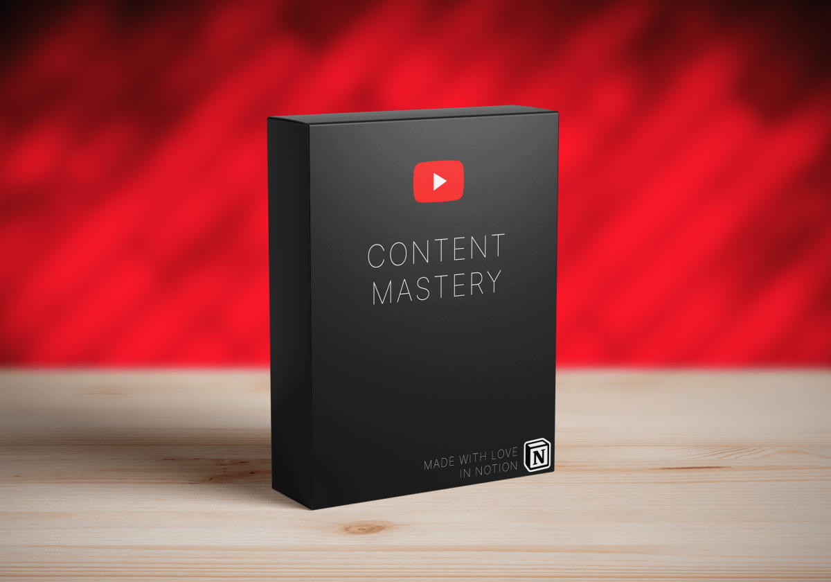 Content Mastery - Perfecting YouTube