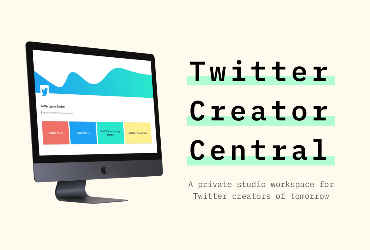 Twitter Creator Central